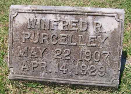 PURCELLEY, WINFRED R. - Independence County, Arkansas | WINFRED R. PURCELLEY - Arkansas Gravestone Photos