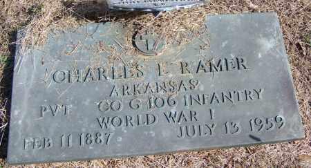 RAMER (VETERAN WWI), CHARLES L - Independence County, Arkansas | CHARLES L RAMER (VETERAN WWI) - Arkansas Gravestone Photos