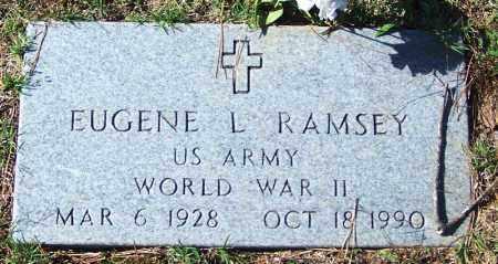 RAMSEY (VETERAN WWII), EUGENE L - Independence County, Arkansas | EUGENE L RAMSEY (VETERAN WWII) - Arkansas Gravestone Photos