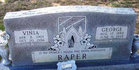 RAPER, GEORGE - Independence County, Arkansas   GEORGE RAPER - Arkansas Gravestone Photos
