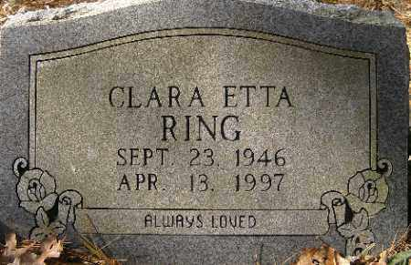 RING, CLARA ETTA - Independence County, Arkansas | CLARA ETTA RING - Arkansas Gravestone Photos