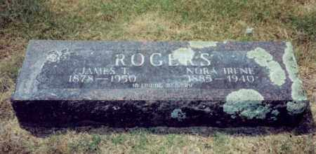 BOWERS ROGERS, NORA IRENE - Independence County, Arkansas | NORA IRENE BOWERS ROGERS - Arkansas Gravestone Photos