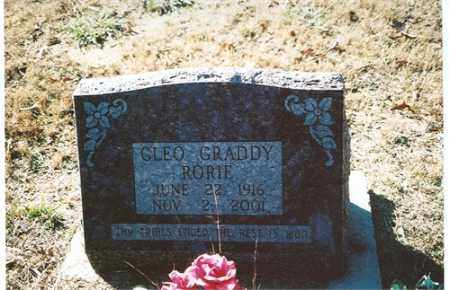 GRADDY RORIE, CLEO - Independence County, Arkansas | CLEO GRADDY RORIE - Arkansas Gravestone Photos