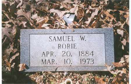 RORIE, SAMUEL WAYNE - Independence County, Arkansas | SAMUEL WAYNE RORIE - Arkansas Gravestone Photos