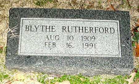 "RUYTHERFORD, CHESTER BLYTHE ""BLYTHE"" - Independence County, Arkansas | CHESTER BLYTHE ""BLYTHE"" RUYTHERFORD - Arkansas Gravestone Photos"