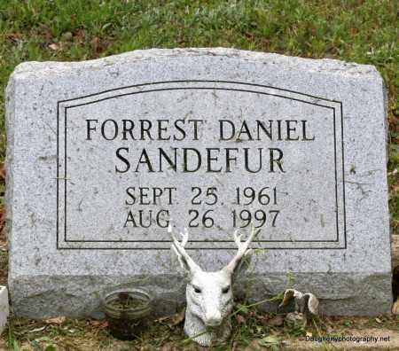 SANDEFUR, FORREST - Independence County, Arkansas | FORREST SANDEFUR - Arkansas Gravestone Photos