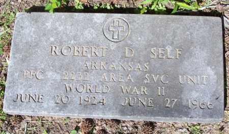 SELF  (VETERAN), ROBERT DEWEY - Independence County, Arkansas | ROBERT DEWEY SELF  (VETERAN) - Arkansas Gravestone Photos
