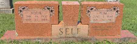 SELF (VETERAN WWI), TOM - Independence County, Arkansas | TOM SELF (VETERAN WWI) - Arkansas Gravestone Photos