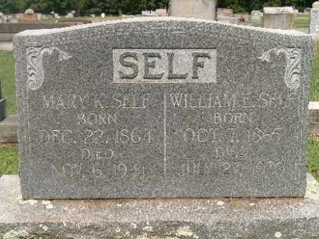 BYRD SELF, MARY K - Independence County, Arkansas | MARY K BYRD SELF - Arkansas Gravestone Photos