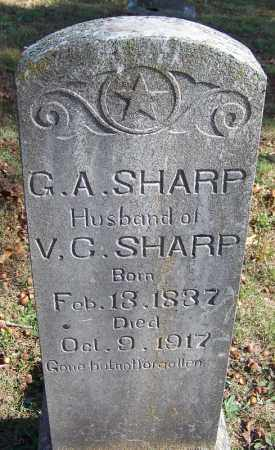 SHARP, G A - Independence County, Arkansas | G A SHARP - Arkansas Gravestone Photos