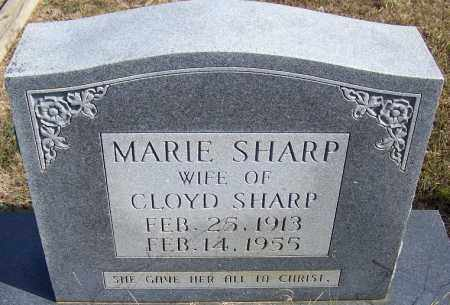 SHARP, MARIE - Independence County, Arkansas | MARIE SHARP - Arkansas Gravestone Photos