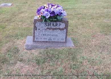 SHARP, ROLAND ONEAL - Independence County, Arkansas | ROLAND ONEAL SHARP - Arkansas Gravestone Photos