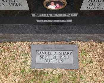 SHARP, SAMUEL A - Independence County, Arkansas | SAMUEL A SHARP - Arkansas Gravestone Photos