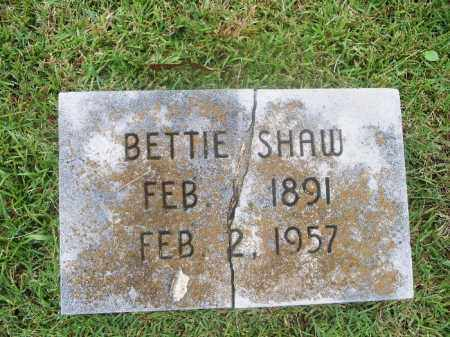 SHAW, ELIZABETH BETTIE - Independence County, Arkansas | ELIZABETH BETTIE SHAW - Arkansas Gravestone Photos
