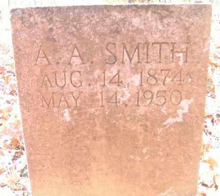 SMITH, A. A. - Independence County, Arkansas | A. A. SMITH - Arkansas Gravestone Photos