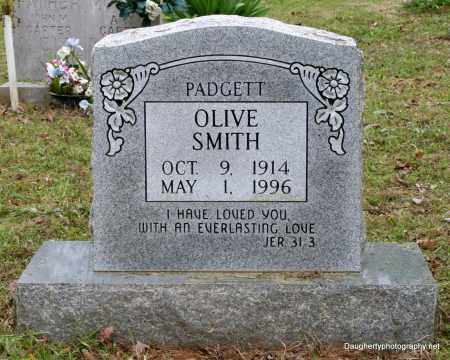 PADGETT SMITH, OLIVE - Independence County, Arkansas | OLIVE PADGETT SMITH - Arkansas Gravestone Photos