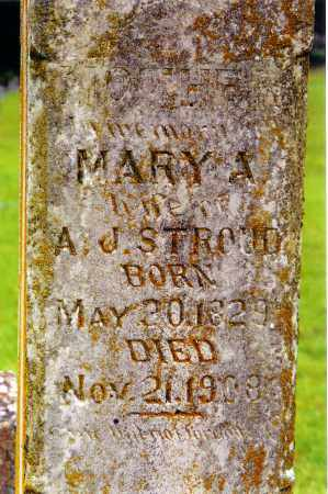 STROUD, MARY ANN (CLOSE UP) - Independence County, Arkansas | MARY ANN (CLOSE UP) STROUD - Arkansas Gravestone Photos