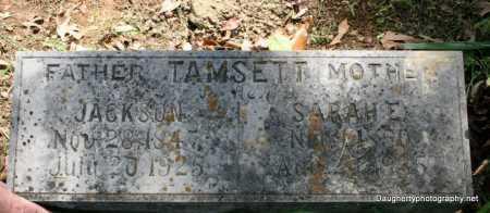 TAMSETT, JACKSON - Independence County, Arkansas | JACKSON TAMSETT - Arkansas Gravestone Photos