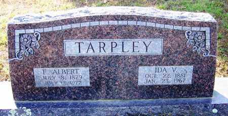 TARPLEY, E ALBERT - Independence County, Arkansas | E ALBERT TARPLEY - Arkansas Gravestone Photos