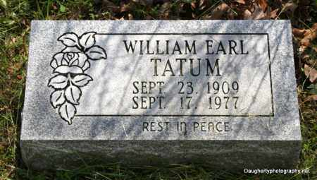 TATUM, WILLIAM - Independence County, Arkansas | WILLIAM TATUM - Arkansas Gravestone Photos
