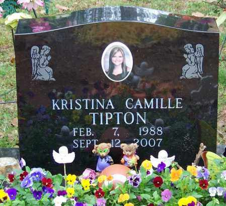 TIPTON, KRISTINA CAMILLE - Independence County, Arkansas | KRISTINA CAMILLE TIPTON - Arkansas Gravestone Photos