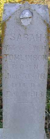 PORTER TOMLINSON, SARAH H. - Independence County, Arkansas | SARAH H. PORTER TOMLINSON - Arkansas Gravestone Photos