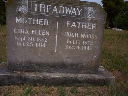 TREADWAY, CORA ELLEN - Independence County, Arkansas | CORA ELLEN TREADWAY - Arkansas Gravestone Photos