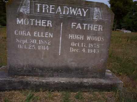 KEITH TREADWAY, CORA ELLEN - Independence County, Arkansas | CORA ELLEN KEITH TREADWAY - Arkansas Gravestone Photos