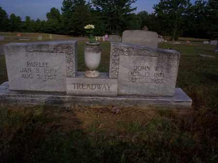 TREADWAY, JOHN W. - Independence County, Arkansas | JOHN W. TREADWAY - Arkansas Gravestone Photos