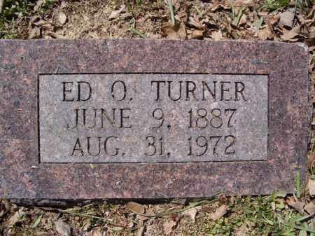 TURNER, ED O. - Independence County, Arkansas | ED O. TURNER - Arkansas Gravestone Photos