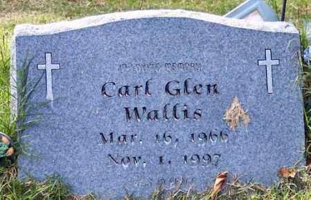 WALLIS, CARL GLEN - Independence County, Arkansas | CARL GLEN WALLIS - Arkansas Gravestone Photos