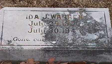 WARREN, IDA J - Independence County, Arkansas | IDA J WARREN - Arkansas Gravestone Photos