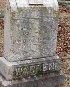 WARREN, MARY ELIZABETH - Independence County, Arkansas | MARY ELIZABETH WARREN - Arkansas Gravestone Photos