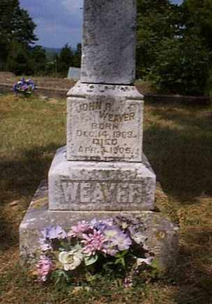 WEAVER, JOHN RICHARD - Independence County, Arkansas | JOHN RICHARD WEAVER - Arkansas Gravestone Photos