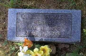 BRUMLEY WEAVER, QUEEN - Independence County, Arkansas | QUEEN BRUMLEY WEAVER - Arkansas Gravestone Photos