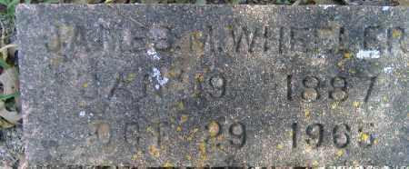 WHEELER, JAMES M. - Independence County, Arkansas | JAMES M. WHEELER - Arkansas Gravestone Photos