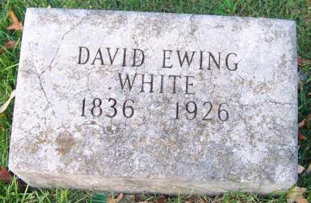 WHITE, DAVID EWING - Independence County, Arkansas | DAVID EWING WHITE - Arkansas Gravestone Photos