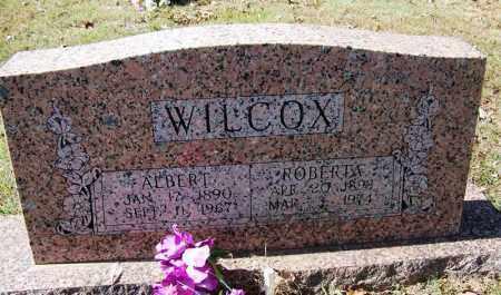 WILCOX, ALBERT - Independence County, Arkansas   ALBERT WILCOX - Arkansas Gravestone Photos