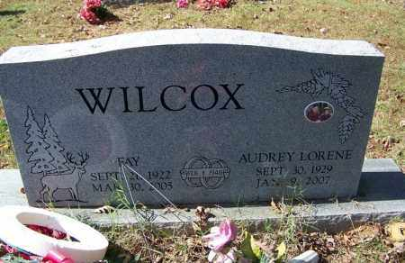 WILCOX, AUDREY LORENE - Independence County, Arkansas | AUDREY LORENE WILCOX - Arkansas Gravestone Photos