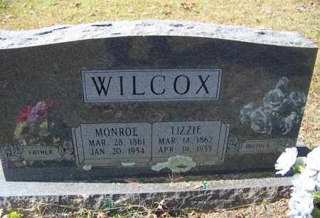 WILCOX, MONROE - Independence County, Arkansas | MONROE WILCOX - Arkansas Gravestone Photos