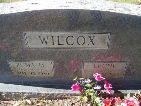 WILCOX, ROMA M - Independence County, Arkansas | ROMA M WILCOX - Arkansas Gravestone Photos