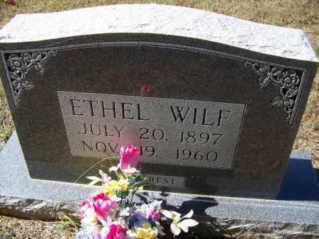WILF, ETHEL - Independence County, Arkansas   ETHEL WILF - Arkansas Gravestone Photos