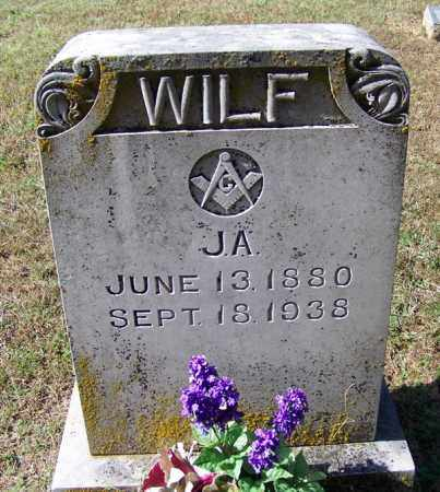 WILF, J A - Independence County, Arkansas   J A WILF - Arkansas Gravestone Photos