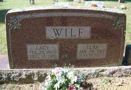 WILF, LACY - Independence County, Arkansas | LACY WILF - Arkansas Gravestone Photos