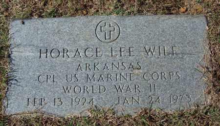 WILF (VETERAN WWII), HORACE LEE - Independence County, Arkansas | HORACE LEE WILF (VETERAN WWII) - Arkansas Gravestone Photos