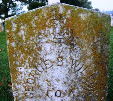 WILSON (VETERAN CSA), GEORGE B - Independence County, Arkansas   GEORGE B WILSON (VETERAN CSA) - Arkansas Gravestone Photos
