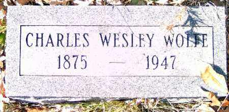 WOLFE, CHARLES WESLEY - Independence County, Arkansas | CHARLES WESLEY WOLFE - Arkansas Gravestone Photos