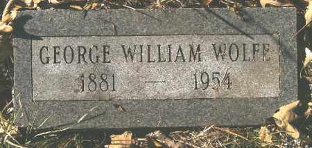 WOLFE, GEORGE WILLIAM - Independence County, Arkansas | GEORGE WILLIAM WOLFE - Arkansas Gravestone Photos