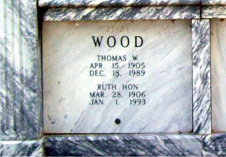 WOOD, THOMAS W. - Independence County, Arkansas | THOMAS W. WOOD - Arkansas Gravestone Photos