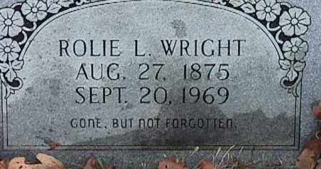 WRIGHT, ROLIE L - Independence County, Arkansas | ROLIE L WRIGHT - Arkansas Gravestone Photos